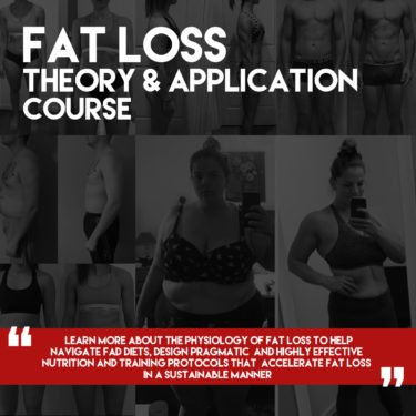 FAT LOSS THEORY AND APPLICATION COURSE